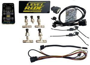 Level Ride Bluetooth Air Ride Suspension 4 corner Controller 3 Preset Pressures