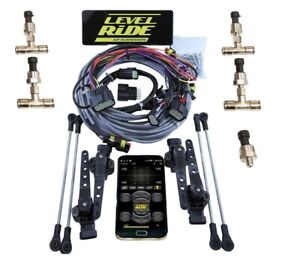 Level Ride Bluetooth Air Ride Suspension 4 corner Controller 3 Preset Heights