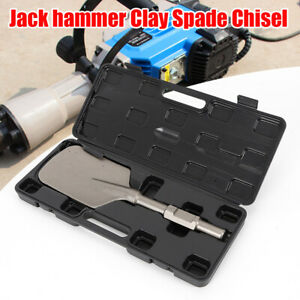 Electric Jack Hammer Clay Spade Chisel Concrete Breaker Tool 30 440 135mm