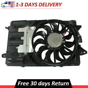 For 2016 2020 Chevrolet Malibu Buick Lacrosse Engine Cooling Fan Assembly 1 5l