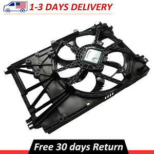 For 18 20 Toyota Camry Radiator Condenser Cooling Fan Assembly 2 5l 1636025010