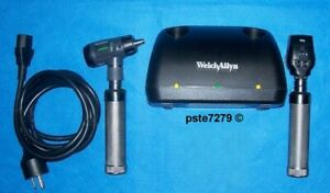 Welch Allyn 71641 m Nicad Desk Charger Set With Macroview Coaxial Heads