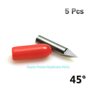 5pcs 45 Blade Vinyl Cutter Knife Fit For Ioline Cutting Plotter