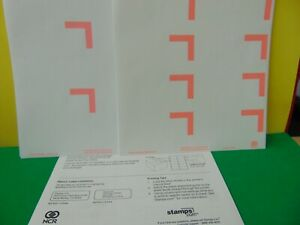 New Stamps com Ncr Shipping Labels 36 Sheets 3 part 12 Sheets 2 part