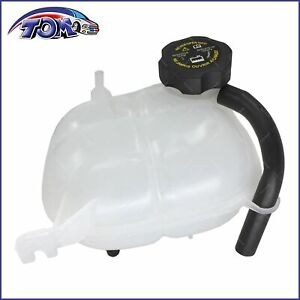 New Radiator Coolant Overflow Bottle Reservoir Tank W Cap For Saturn Pontiac