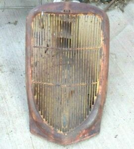 1936 Ford Truck Grille Shell Original Pickup Panel Custom Rod