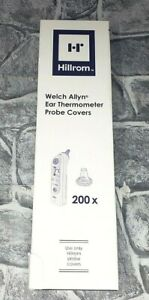 Hillrom Welch Allyn Ear Thermometer 200 Probe Covers New Sealed Ships Free