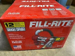 New Tuthill Fill Rite Fr4210g 12v Fuel Transfer Pump High Flow 20 Gpm New
