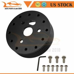 1 Steering Wheel Hub Adapter Spacer 6 Hole Fits Grant Apc 3 Hole Screw Bolt