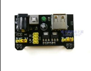 Mini Mb102 Breadboard Power Supply Module Usb 3 3v 5v Direct Current For Arduino