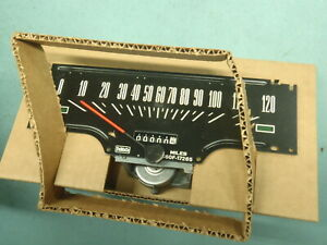 Nos 1966 Ford Fairlane Speedometer Assembly 66 500 Gt Xl 289 390 R Code 427 66