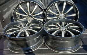 20 Lexani Srt Wheels For Dodge Charger Black Machined Rims 2008 Charger