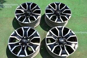 17 Toyota Tacoma Oem Factory Trd Sport Wheels 4runner Tundra 2020