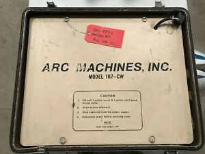 Ami Arc Machines 107 cw Orbital Welder Cooling Cooler Unit