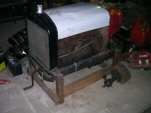1919 Ford Model T Stationary Flat Belt Drive Saw Mill Engine Runs Hit And Miss