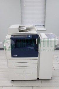Xerox Workcentre 5955 B w Copy print scan fax email 55ppm Prints Up To 11x17