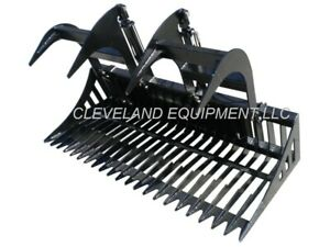66 Sd Skeleton Rock Grapple Attachment Skid steer Loader Cat New Holland Bobcat