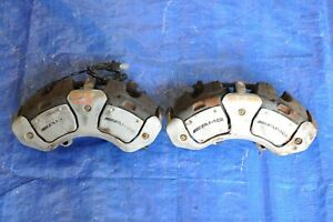 2009 Mercedes Benz S63 Amg W221 3 Front Left Right Brake Pad Calipers Set Oem