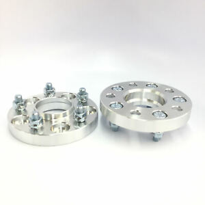 2pc 25mm 1 Wheel Spacers 5x108 Hubcentric W Lip 65 1mm To 63 4 Hub Volvo