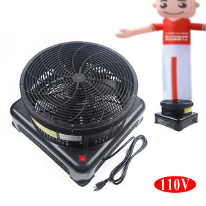 110v 750w Inflatable Air Blower Fan For Dancer Wind Tube Man Puppet 17 7inch