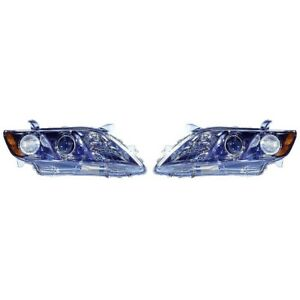 Fits 2007 2008 2009 Toyota Camry Se Headlight Pair Dot To2502168