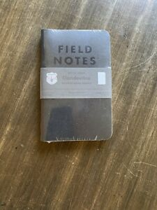 Field Notes clandestine Dot Graph Paper Fnc 41 Sealed 3 pack Memo Notebooks