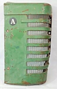 All Original John Deere Model A Tractor Right Front Grille