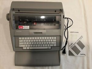 Brother Electronic Typewriter With Display Sx 4000 Works Pre owned
