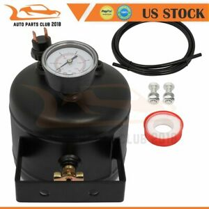 1 8 Liters 5 Ports Air Tank Kit With Air Gauge Switch Train Air Horn Suspension