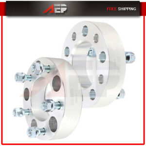 2 Pcs Wheel Spacers 5x5 To 5x5 1 5 Thick For Jeep Grand Cherokee Wrangler 2008