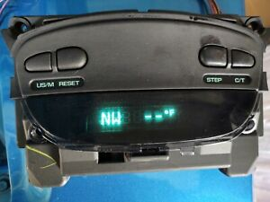 2002 05 Dodge Ram Digital Overhead Console Compass Temp Computer Display Only