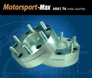2 Wheel Adapters 5x5 5 To 6x135 Spacers For Ford F150 Rims On Dodge Ram 1500