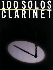 100 Solos - Clarinet Paperback Music Sales Corporation