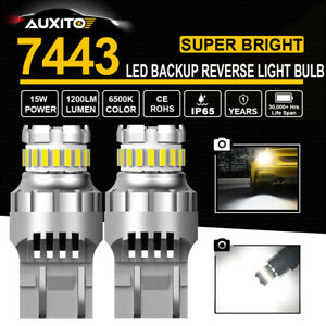 7440 7441 Led Back Up Reverse Light Bulbs Cool White 6000k Extremely Bright 2pcs