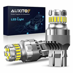 Auxito Led 7443 7440 7441 Backup Reverse Light Bulbs 6000k White Replace Halogen