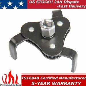 New Universal Two Way Oil Filter Wrench Removal Tool Fully Adjustable Heavy Duty