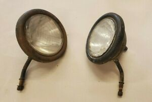 Antique 1930s National Headlights Buick Packard Ford Cadillac Stutz Chevrolet