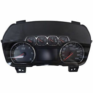 23259636 Instrument Cluster Metric With Multi Color Display 2015 Suburban Tahoe