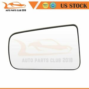 For 2008 2011 Ford Focus Flat Mirror Glass Driver Side Chrome Mirror