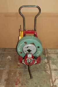 Spartan 300 Snake Sewer Drain Cleaning Machine With Power Feed