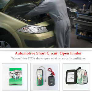 Automotive Short Open Finder Cable Circuit Car Wire Tracker Repair Tester Kit