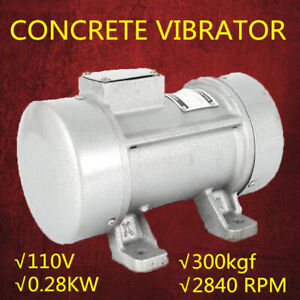Concrete Vibrator Motor Cement Vibration Mixing Machine Industial Construction