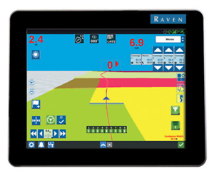 Raven Cr12 Gps Display W Universal Terminal Unlock And Mount