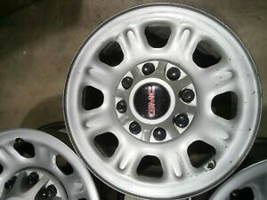 Used 18x8 Steel Wheel Rim 2011 2019 Chevy Silverado 2500 8 Lug 180mm Set 7 21