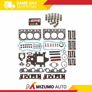 Head Gasket Set Lifters Fit 96 05 Chevrolet Buick Pontiac Gm Supercharged 3 8