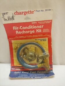 Chargette Nos Air Conditioner Recharge Kit Vintage R 12 20184