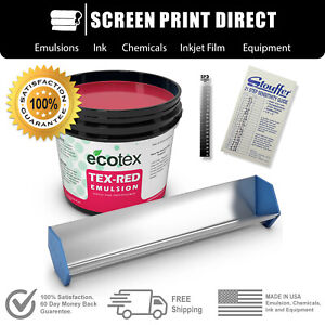 Ecotex Emulsion Starter Kit Scoop Coater Emulsion Exposure Calculator