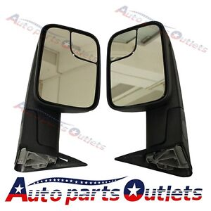 L R For 1994 2001 Dodge Ram 1500 94 02 2500 3500 Tow Flip Up Manual Mirrors