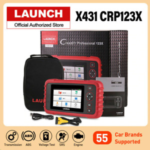 2021 New Launch X431 Crp123x Pro Obd2 Diagnostic Scanner Fault Car Code Reader
