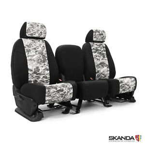 Coverking Neosupreme Mossy Oak Elements Manta Seat Covers For Nissan Titan